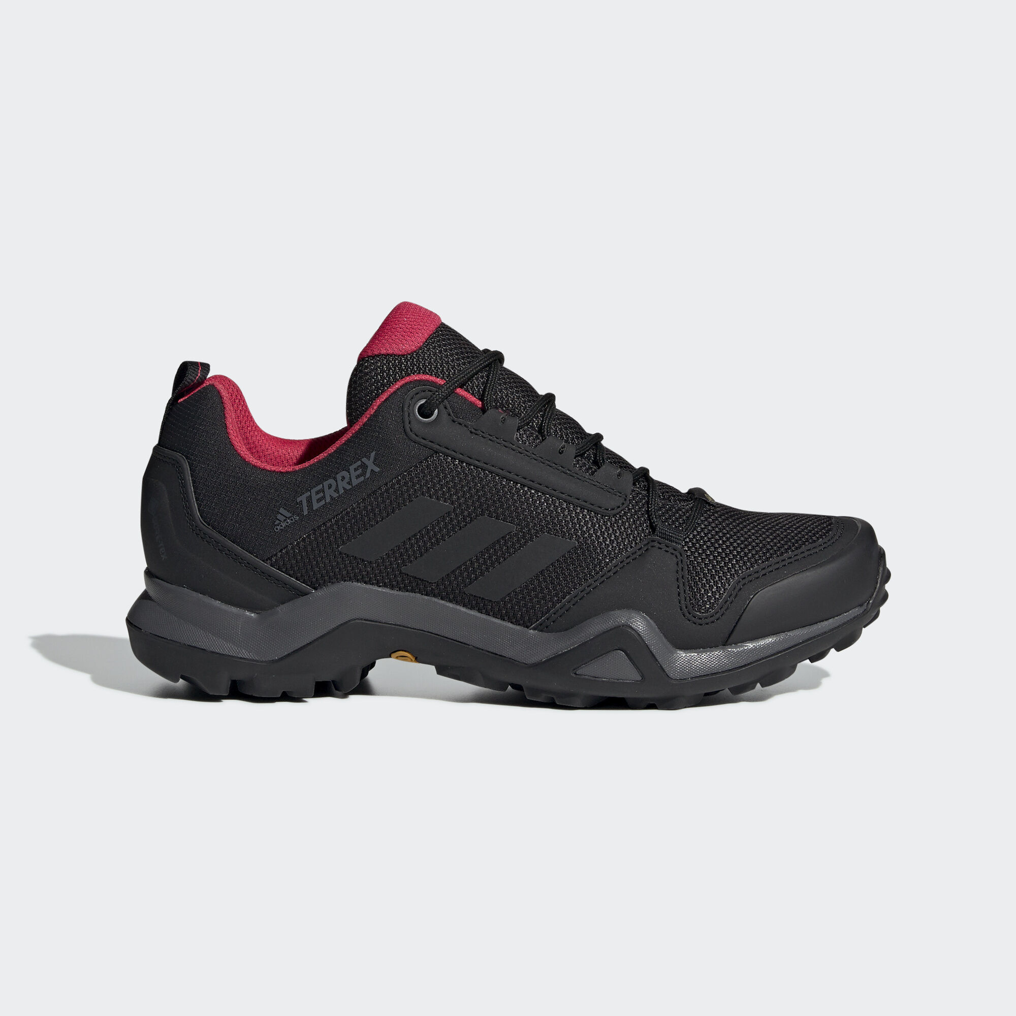 d4fa384312d4d9 adidas - Terrex AX3 GTX Shoes Black   Core Black   Active Pink BC0572. Women  TERREX