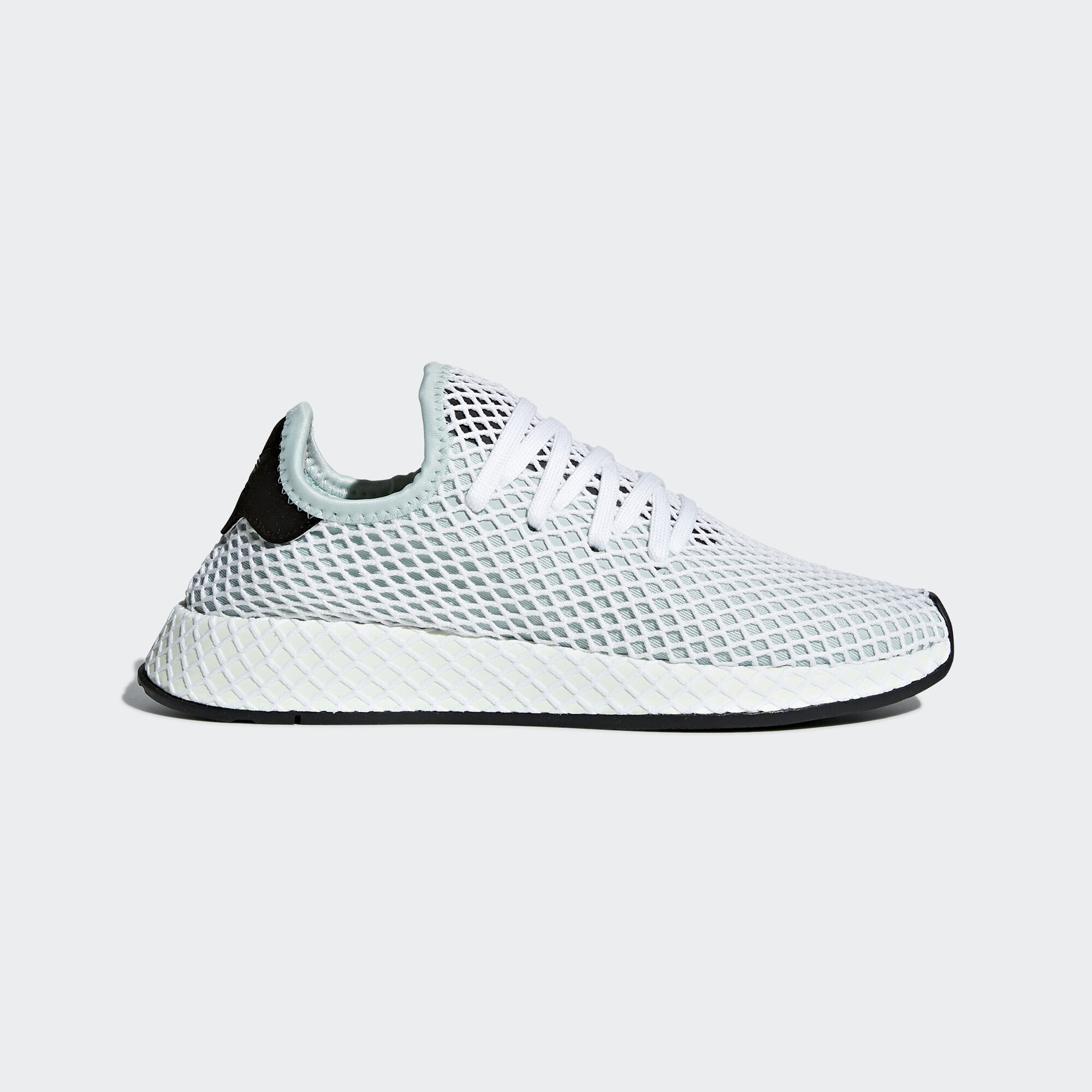 adidas Originals Deerupt Runner W Ash Green Core Black Women Running Shoe CQ2911