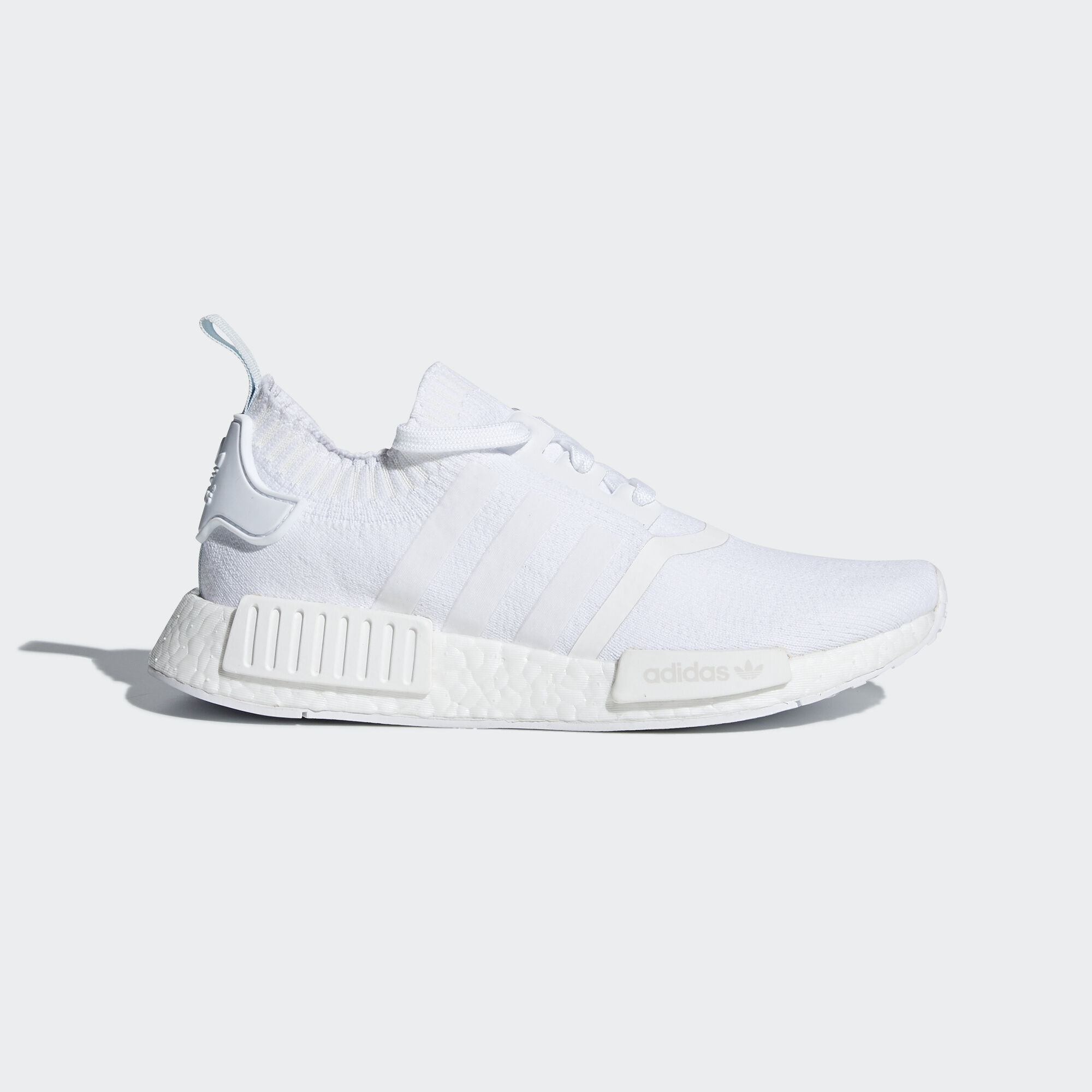 adidas - NMD_R1 Primeknit Shoes Ftwr White/Ftwr White/Blue Tint CQ2040 ...