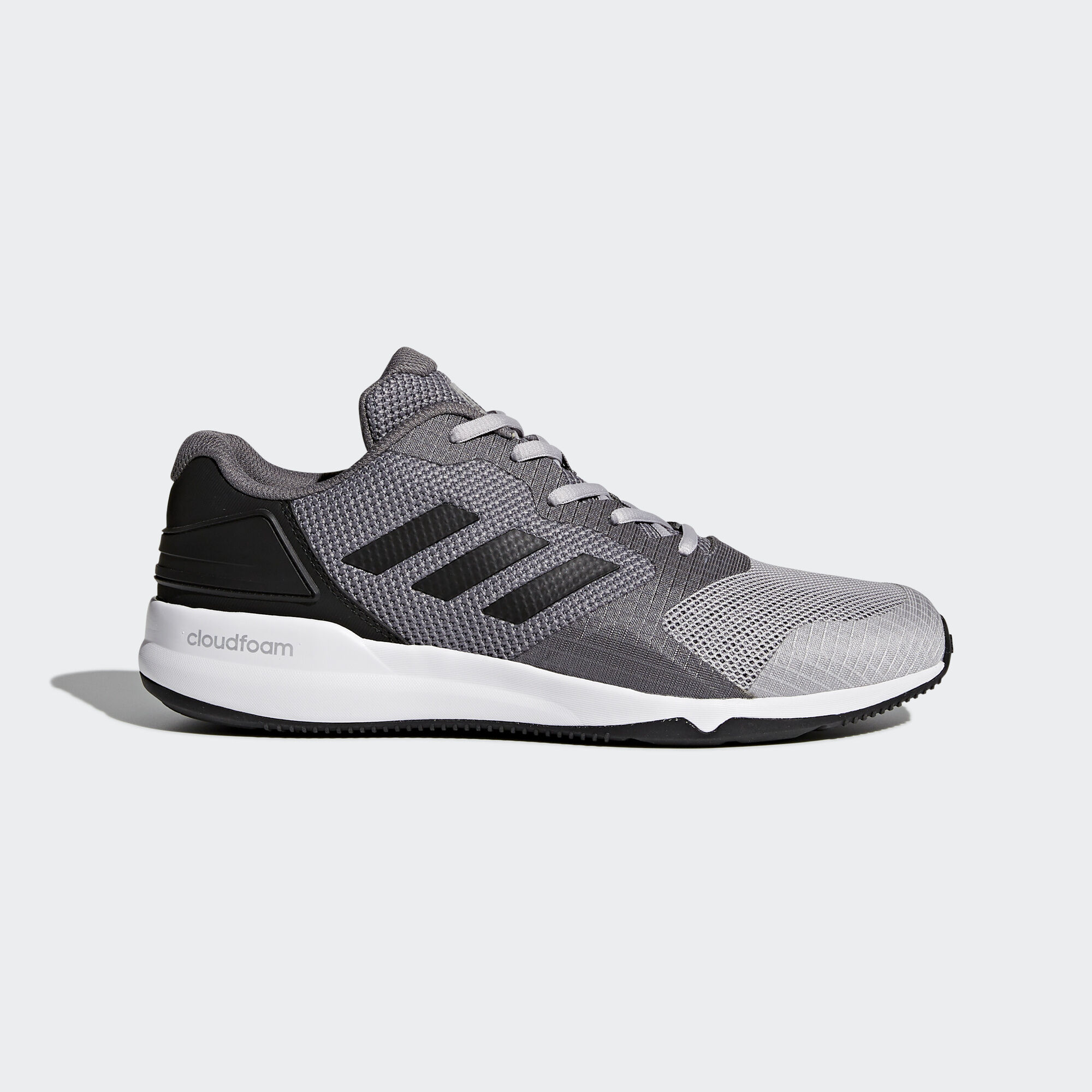 adidas cloudfoam trainers grey