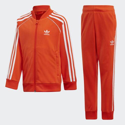 adidas - SST Track Suit Active Orange / White DV2855