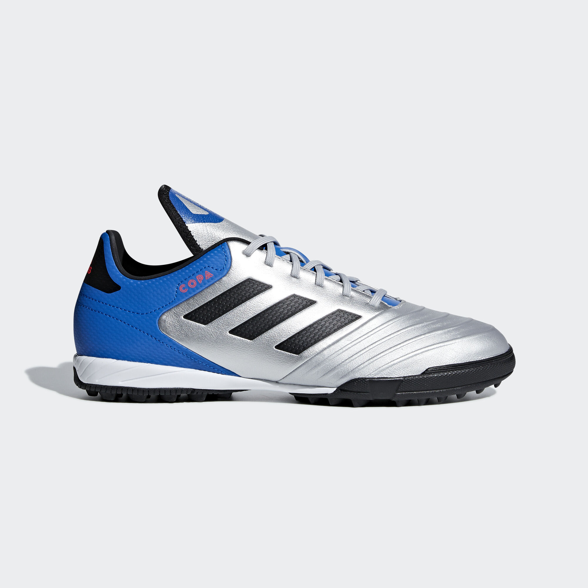 sale retailer 9a647 b3680 adidas - Copa Tango 18.3 Turf Boots Silver Met.  Core Black  Football  Blue. Men Football
