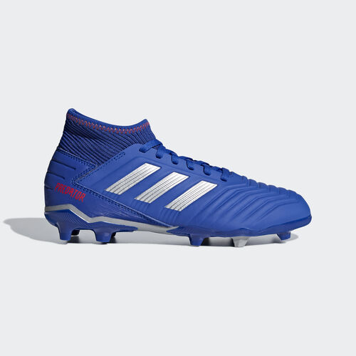 adidas - Predator 19.3 Firm Ground Boots Bold Blue / Silver Met. / Active Red CM8533
