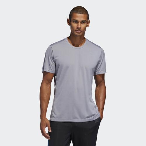 adidas - Own the Run Tee Grey / Reflective Silver DX1320