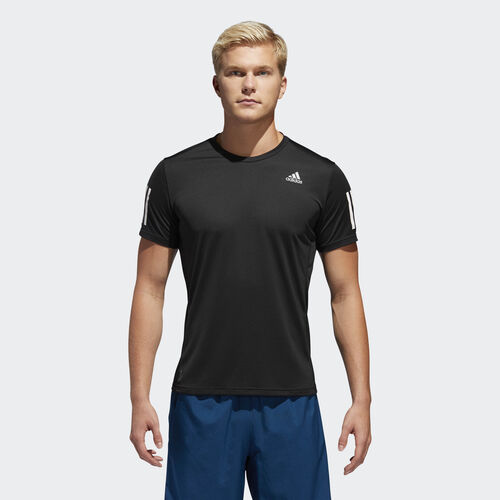 adidas - Own the Run Tee Black / White DX1312