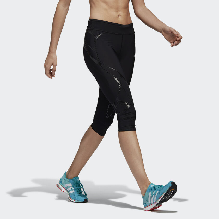 adizero Sprintweb Three-Quarter Tights