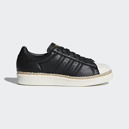 adidas - Superstar 80s New Bold Shoes Core Black/Core Black/Off White CQ2365