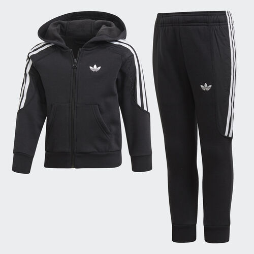 adidas - Radkin Hoodie Set Black / White DV2862