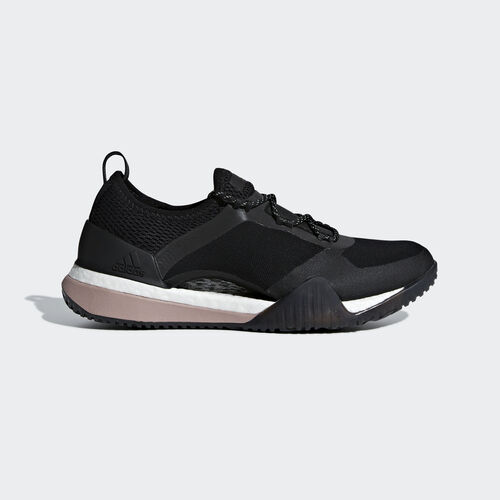 adidas - Pureboost X TR 3.0 Shoes Core Black / Smoked Pink / Noble Maroon B75899