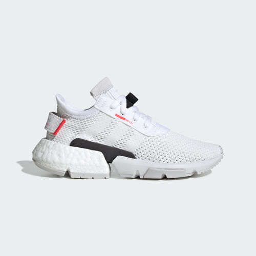 adidas - POD-S3.1 Shoes Ftwr White / Ftwr White / Shock Red DB2875