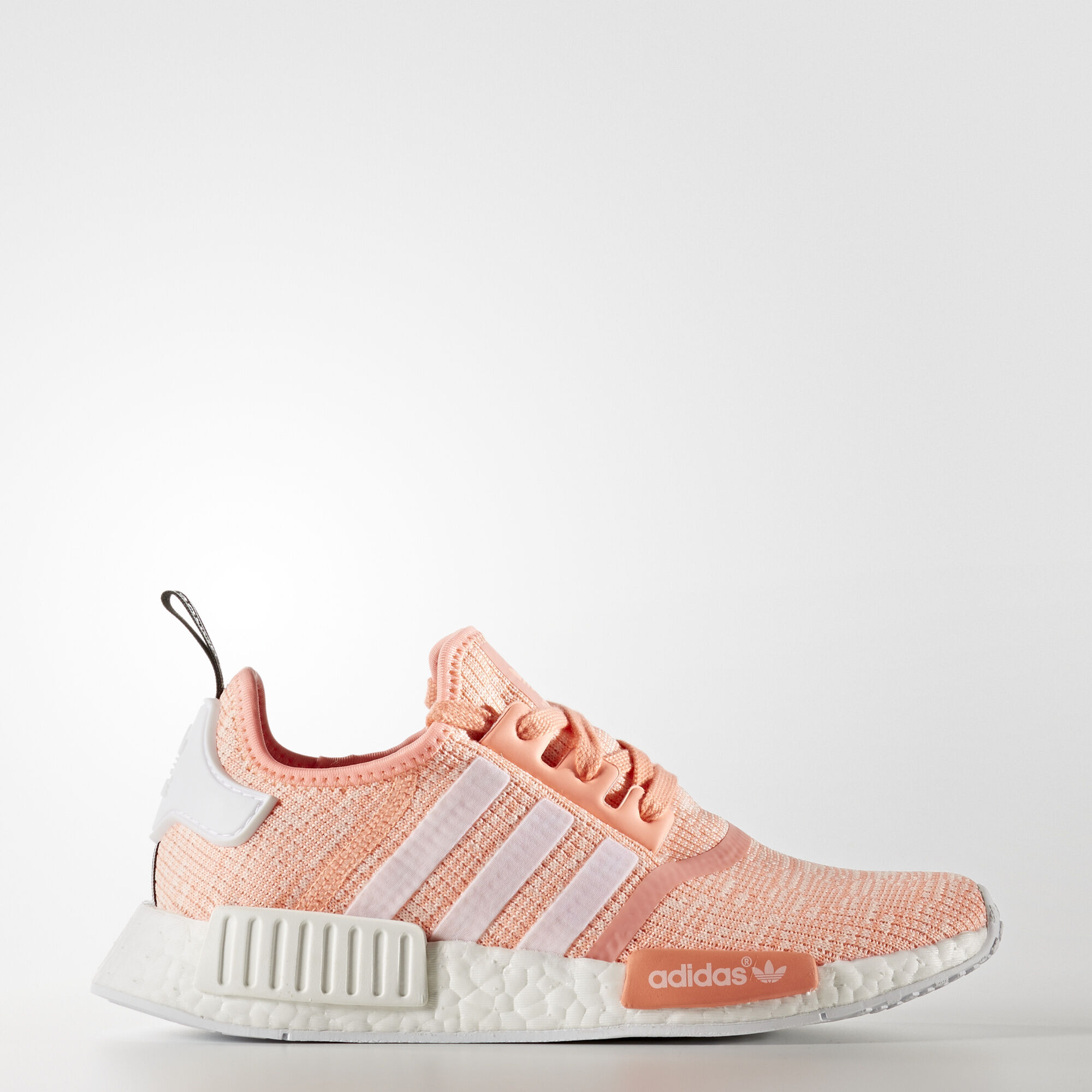 brand new 9ab8b 8efac adidas - NMD R1 Shoes Sun Glow Footwear White Haze Coral BY3034. Women  Originals