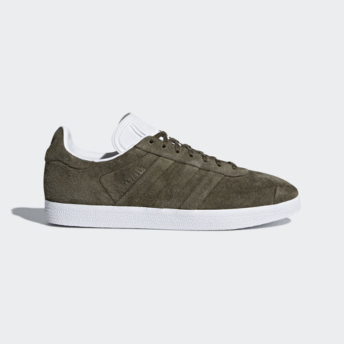 adidas - Gazelle Stitch and Turn Shoes Branch/Branch/Ftwr White CQ2359