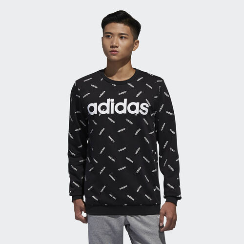 adidas - Graphic Sweatshirt Black / White DW7863