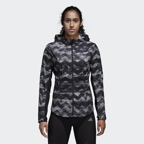 adidas - Adizero Track Jacket Black/Crystal White CE0330