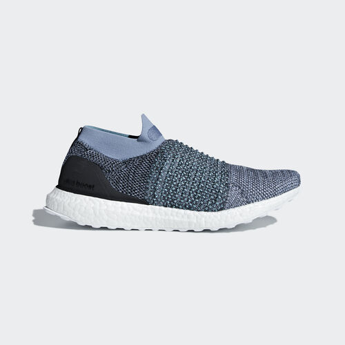 adidas - Ultraboost Laceless Shoes Raw Grey / Carbon / Blue Spirit CM8271