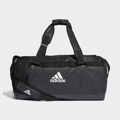 adidas - Convertible Training Duffel Bag Medium Black / Black / White DT4814