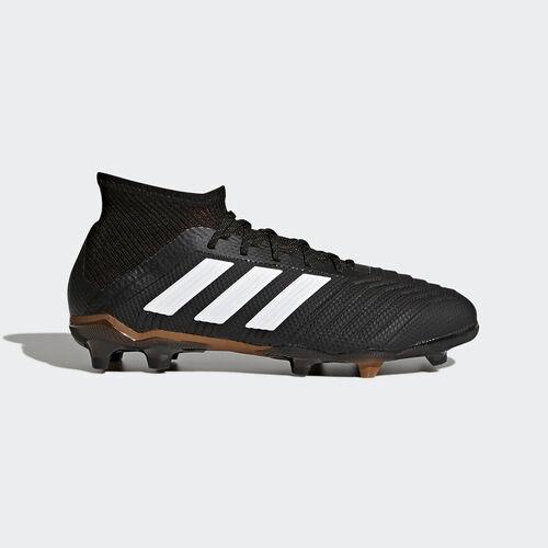 adidas - Predator 18.1 Firm Ground Boots Core Black/Ftwr White/Solar Red CP8872