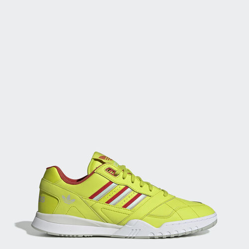 A.R. Trainer Shoes, , zoom, (Semi Solar Yellow / Lush Red / Vapour Green), 29 March