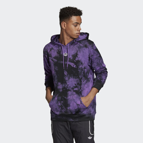 adidas - Space-Dyed Hoodie Active Purple DU8212