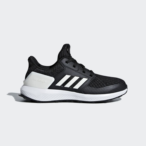 adidas - RapidaRun Knit Shoes Core Black / Cloud White / Carbon AH2608