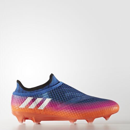 adidas - Messi 16+ Pureagility Firm Ground Boots Blue/Footwear White/Solar Orange BB1871