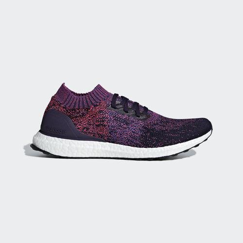 adidas - Ultraboost Uncaged Shoes Legend Purple / Active Blue / Shock Red D97404