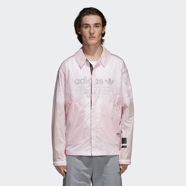 NMD Coach Shirt Jacket Ροζ CV5821