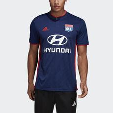 adidas - Camisola Alternativa do Olympique Lyonnais Dark Blue   Hi-Res Red  CK3172 ... 0e62e4e2c0377