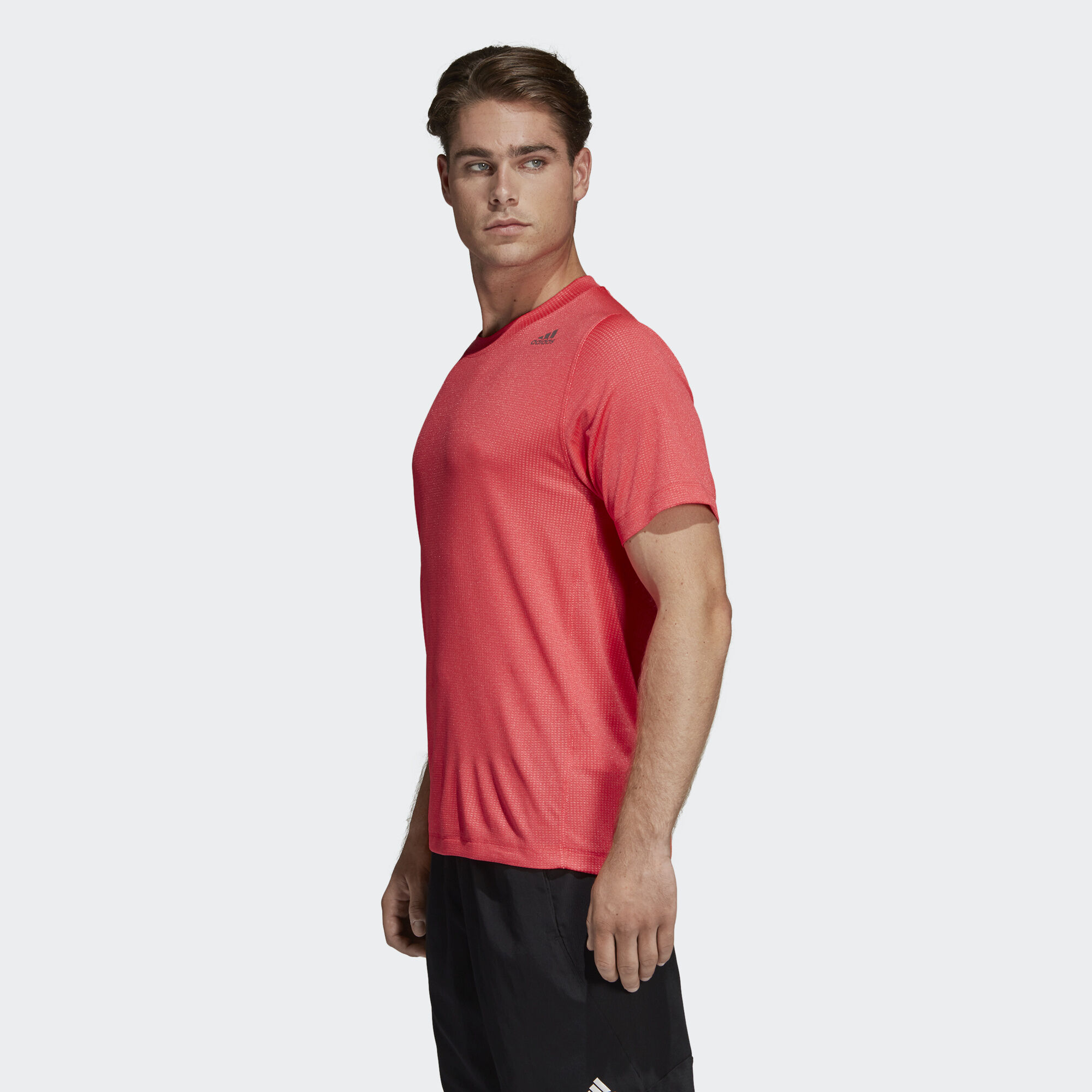 adidas FreeLift 360 Fitted Climachill Tee Black | adidas Finland