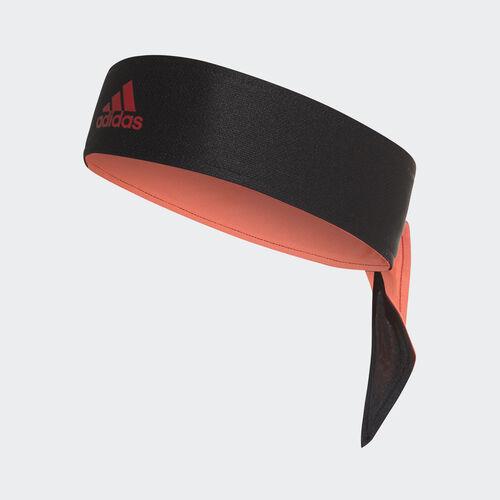 adidas - Tennis Tie Band Black / Reflective Silver / Flash Red DJ0924