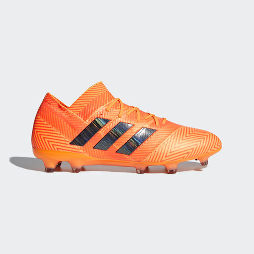 adidas - Nemeziz 18.1 Firm Ground Boots Zest / Core Black / Solar Red DA9588