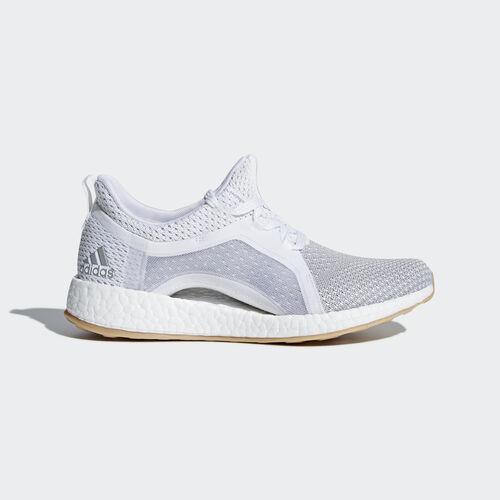 adidas - Pureboost X Clima Shoes Ftwr White/Silver Metallic/Grey Two BB6089