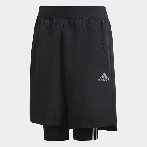 adidas - Football Two-in-One Shorts Black / Grey Five DJ1256