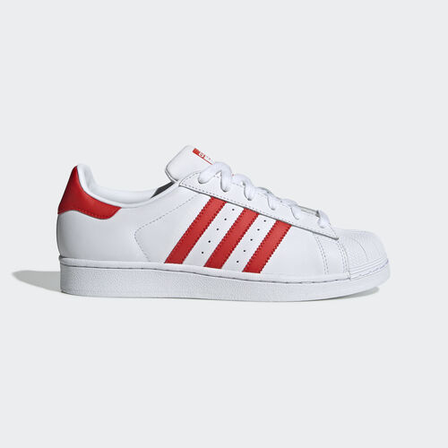 adidas - Superstar Shoes Ftwr White / Active Red / Core Black CM8413
