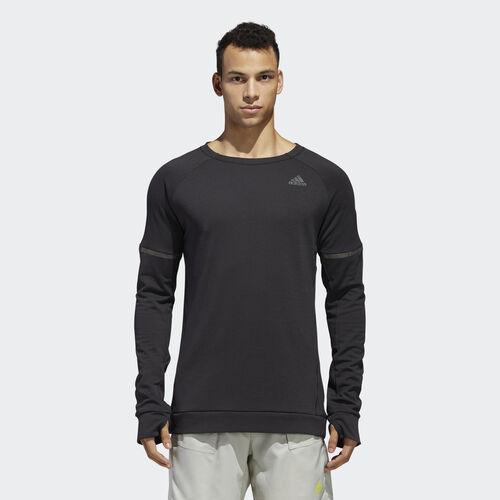 adidas - Supernova Run Cru Sweatshirt Black DN2484