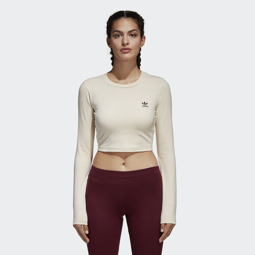 adidas - Styling Complements Cropped Tee Linen CE1672
