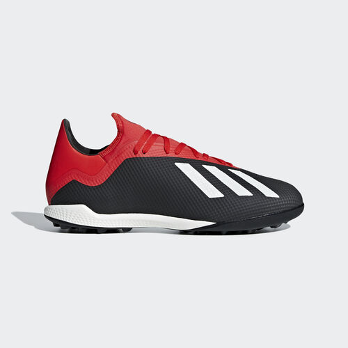 adidas - X Tango 18.3 Turf Boots Core Black / Off White / Active Red BB9398