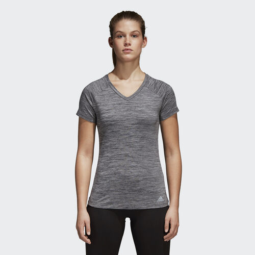 adidas - FreeLift Fitted Tee Grey One CD3103