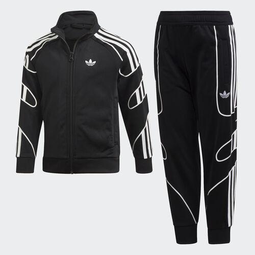 adidas - Flamestrike Track Suit Black / White DV2864