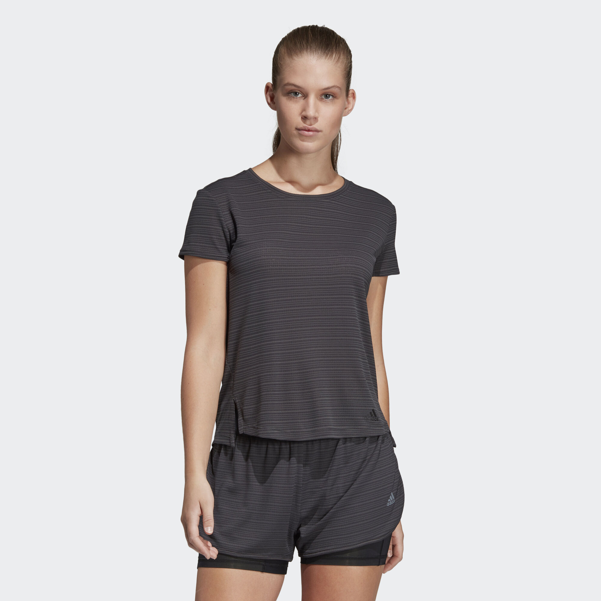 adidas - FreeLift Chill Tee Carbon CV3770. Women Training