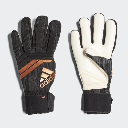 adidas - Predator 18 Pro Gloves Black/Solar Red/Copper Gold CF1351