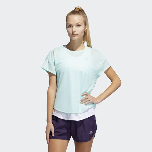 adidas - Adapt to Chaos Tee Clear Mint / White DT4805