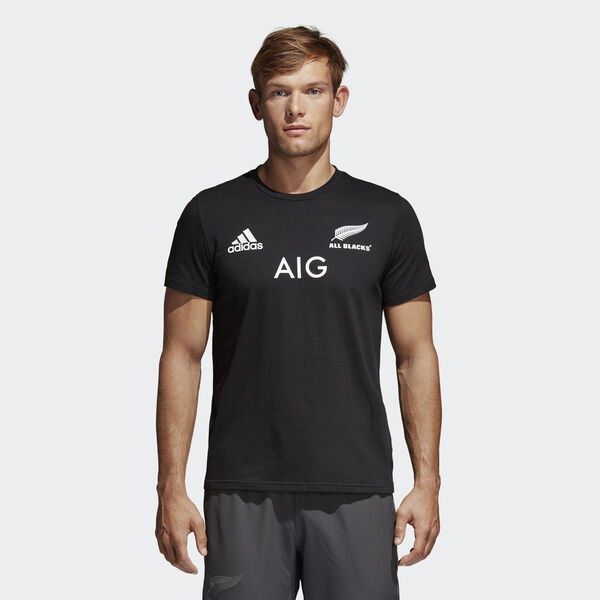 T-Shirt Principal dos All Blacks Preto B48911
