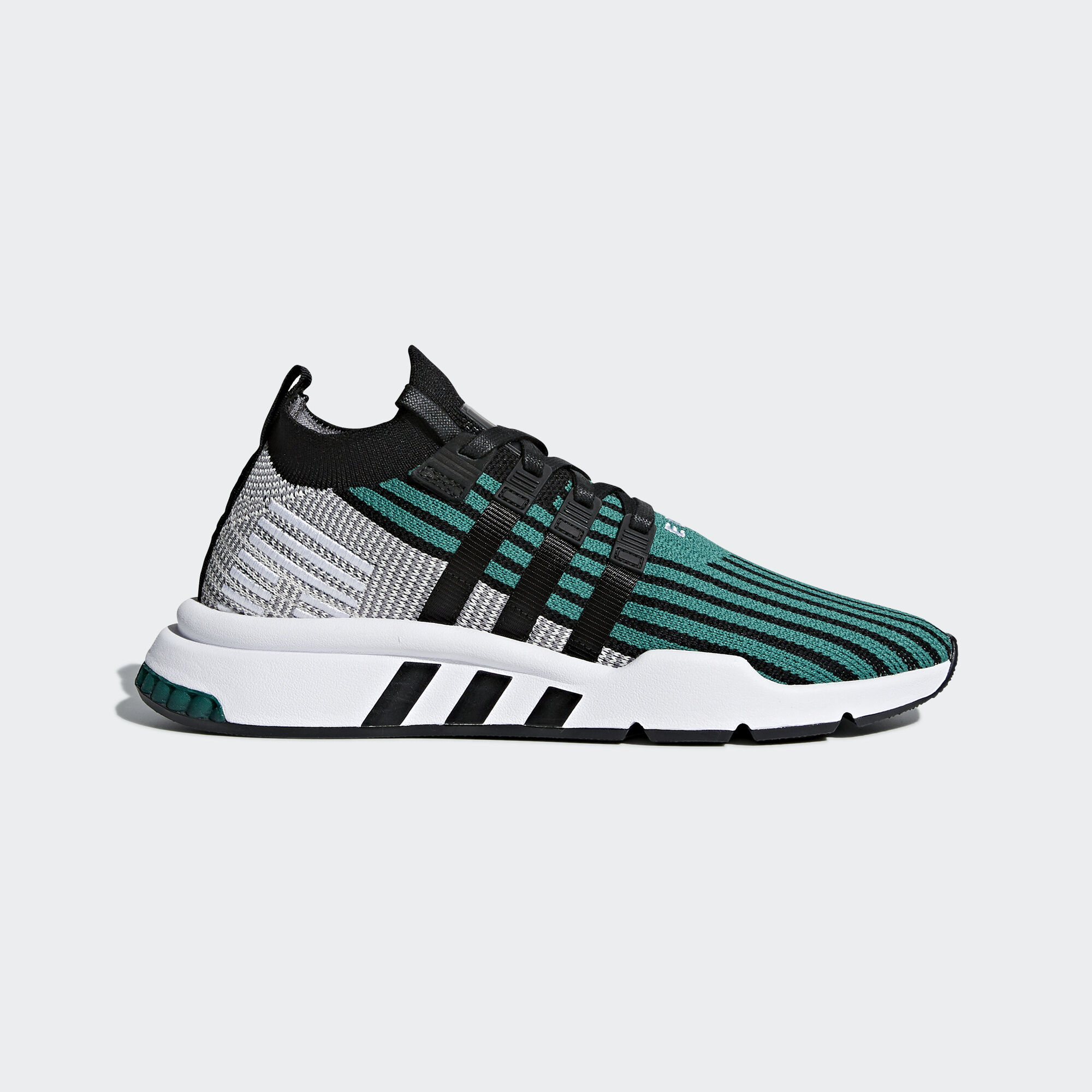 5fa23d7bbac adidas - EQT Support Mid ADV Primeknit Shoes Sub Green Core Black Core Black
