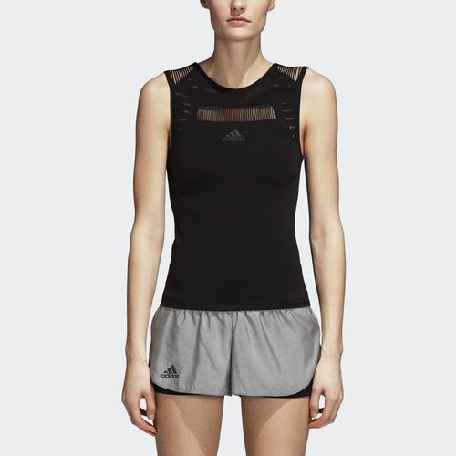 adidas - Barricade Warp Knit Tank Top Black CY2259