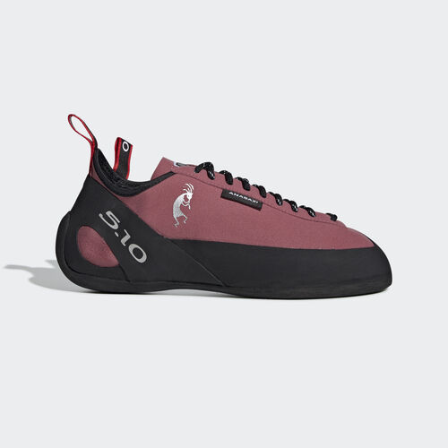adidas - Five Ten Climbing Anasazi Lace Shoes Trace Maroon / Core Black / Core White BC0889