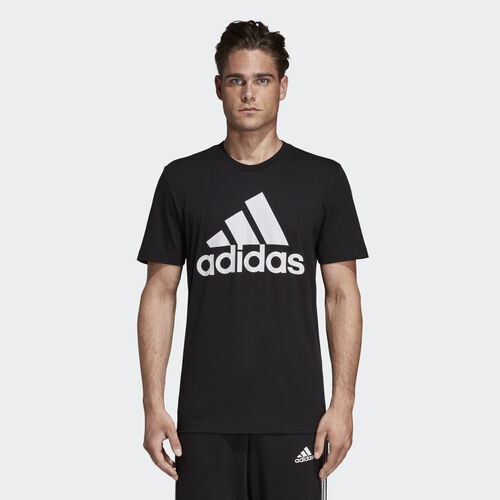 adidas - Must Haves Badge of Sport Tee Black / White DT9933