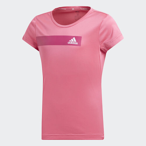 adidas - Training Cool Tee Semi Solar Pink / White DV2738