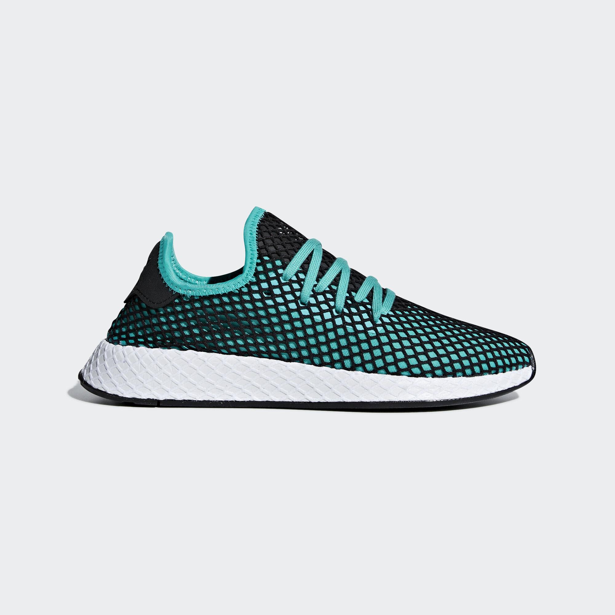 f8d8519d00b1 adidas - Deerupt Runner Shoes Hi-Res Aqua   Hi-Res Aqua   Core