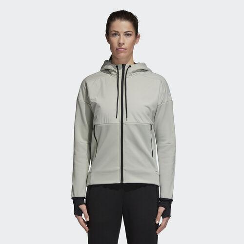 adidas - ID Heat Hoodie Ash Silver CW5762